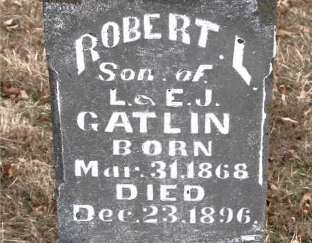 GATLIN, ROBERT L. - Carroll County, Arkansas | ROBERT L. GATLIN - Arkansas Gravestone Photos