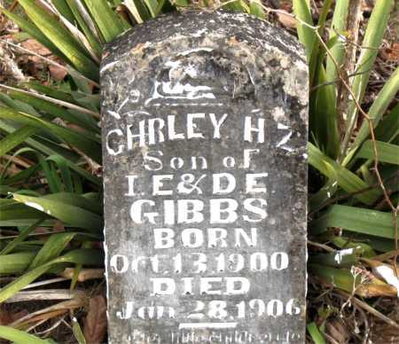 GIBBS, CHRLEY  H.  Z. - Carroll County, Arkansas | CHRLEY  H.  Z. GIBBS - Arkansas Gravestone Photos