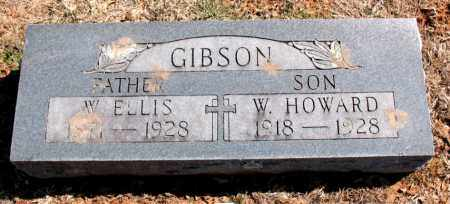 GIBSON, W. ELLIS - Carroll County, Arkansas | W. ELLIS GIBSON - Arkansas Gravestone Photos