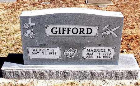 GIFFORD, MAURICE  V. - Carroll County, Arkansas | MAURICE  V. GIFFORD - Arkansas Gravestone Photos