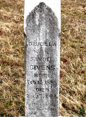 GIVENS, DRUCILLA - Carroll County, Arkansas | DRUCILLA GIVENS - Arkansas Gravestone Photos