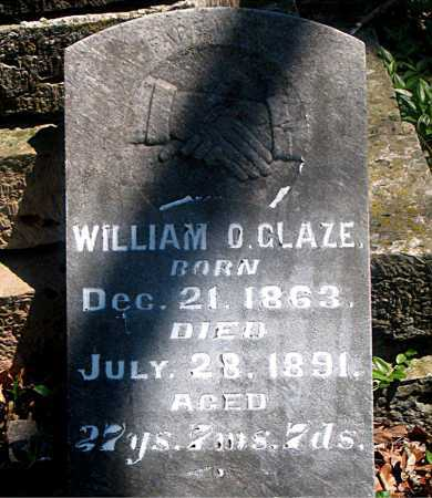 GLAZE, WILLIAM O. - Carroll County, Arkansas | WILLIAM O. GLAZE - Arkansas Gravestone Photos
