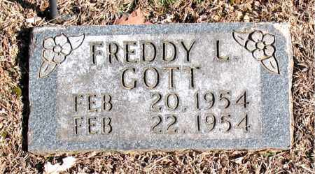 GOTT, FREDDY  L. - Carroll County, Arkansas | FREDDY  L. GOTT - Arkansas Gravestone Photos