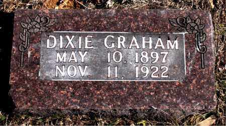 GRAHAM, DIXIE - Carroll County, Arkansas | DIXIE GRAHAM - Arkansas Gravestone Photos