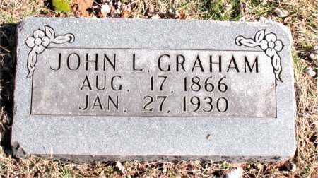 GRAHAM, JOHN  L - Carroll County, Arkansas | JOHN  L GRAHAM - Arkansas Gravestone Photos