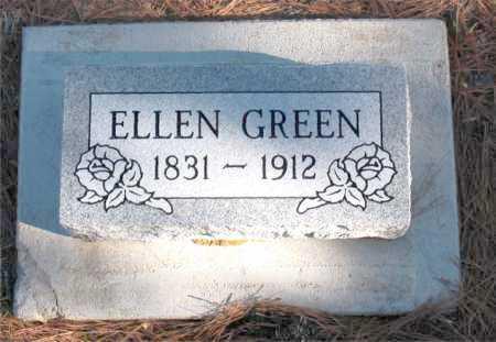 GREEN, ELLEN - Carroll County, Arkansas | ELLEN GREEN - Arkansas Gravestone Photos