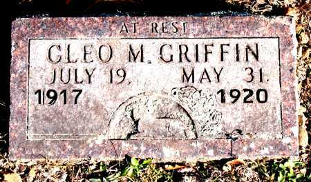 GRIFFIN, CLEO M. - Carroll County, Arkansas | CLEO M. GRIFFIN - Arkansas Gravestone Photos