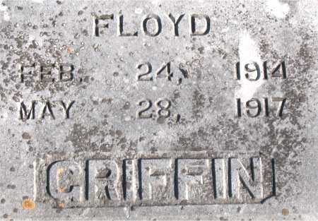 GRIFFIN, FLOYD - Carroll County, Arkansas | FLOYD GRIFFIN - Arkansas Gravestone Photos