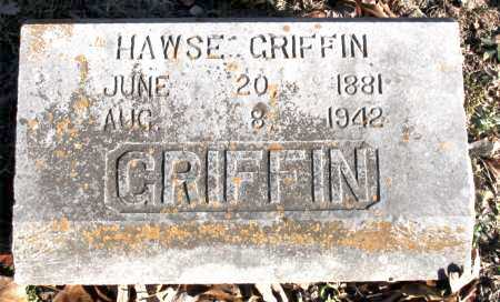 GRIFFIN, HAWSE - Carroll County, Arkansas | HAWSE GRIFFIN - Arkansas Gravestone Photos