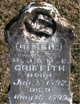 GRIFFITH, BESSIE - Carroll County, Arkansas | BESSIE GRIFFITH - Arkansas Gravestone Photos