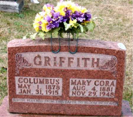 GRIFFITH, COLUMBUS - Carroll County, Arkansas | COLUMBUS GRIFFITH - Arkansas Gravestone Photos