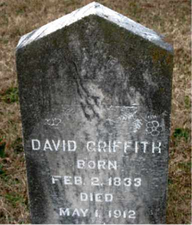 GRIFFITH, DAVID - Carroll County, Arkansas | DAVID GRIFFITH - Arkansas Gravestone Photos
