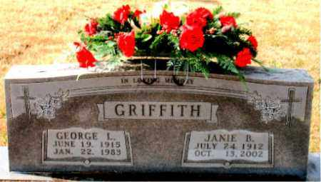 GRIFFITH, GEORGE L. - Carroll County, Arkansas | GEORGE L. GRIFFITH - Arkansas Gravestone Photos