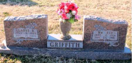 GRIFFITH, WILLIAM  RUE - Carroll County, Arkansas | WILLIAM  RUE GRIFFITH - Arkansas Gravestone Photos