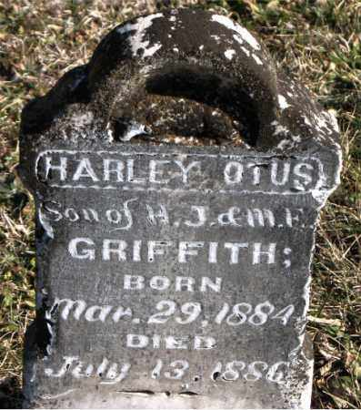 GRIFFITH, HARLEY  OTUS - Carroll County, Arkansas | HARLEY  OTUS GRIFFITH - Arkansas Gravestone Photos