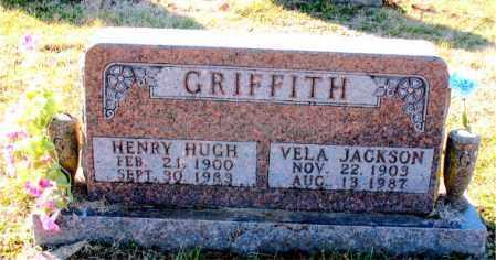 JACKSON GRIFFITH, VELA - Carroll County, Arkansas | VELA JACKSON GRIFFITH - Arkansas Gravestone Photos