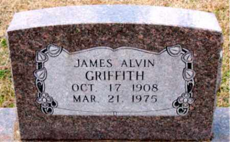 GRIFFITH, JAMES ALVIN - Carroll County, Arkansas | JAMES ALVIN GRIFFITH - Arkansas Gravestone Photos