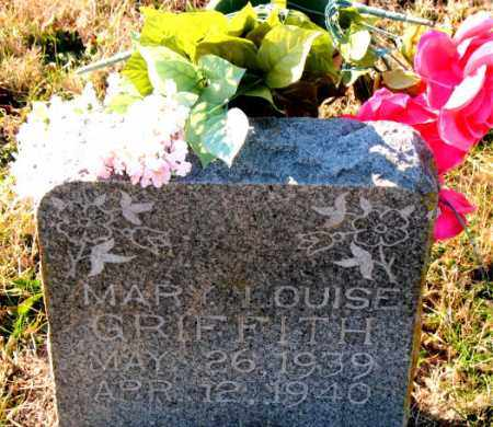 GRIFFITH, MARY  LOUISE - Carroll County, Arkansas | MARY  LOUISE GRIFFITH - Arkansas Gravestone Photos