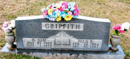 GRIFFITH, O. SAM - Carroll County, Arkansas | O. SAM GRIFFITH - Arkansas Gravestone Photos