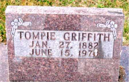 GRIFFITH, TOMPIE - Carroll County, Arkansas | TOMPIE GRIFFITH - Arkansas Gravestone Photos