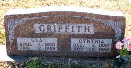 GRIFFITH, ULA - Carroll County, Arkansas | ULA GRIFFITH - Arkansas Gravestone Photos