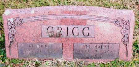 GRIGG, RALPH - Carroll County, Arkansas | RALPH GRIGG - Arkansas Gravestone Photos