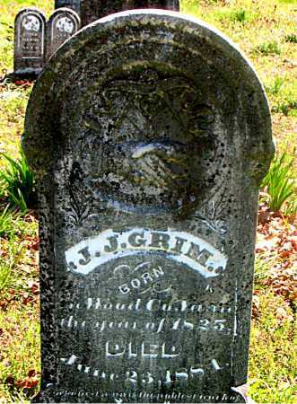GRIM, JOHN J. - Carroll County, Arkansas | JOHN J. GRIM - Arkansas Gravestone Photos