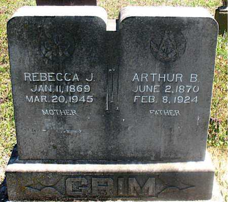 GRIM, REBECCA J - Carroll County, Arkansas | REBECCA J GRIM - Arkansas Gravestone Photos