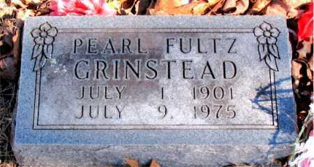 FULTZ GRINSTEAD, PEARL - Carroll County, Arkansas | PEARL FULTZ GRINSTEAD - Arkansas Gravestone Photos