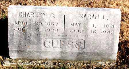 GUESS, SARAH E. - Carroll County, Arkansas | SARAH E. GUESS - Arkansas Gravestone Photos