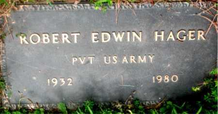 HAGER (VETERAN), ROBERT EDWIN - Carroll County, Arkansas | ROBERT EDWIN HAGER (VETERAN) - Arkansas Gravestone Photos