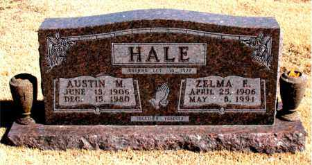 HALE, ZELMA  F. - Carroll County, Arkansas | ZELMA  F. HALE - Arkansas Gravestone Photos