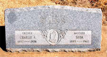 HALE, SUDA - Carroll County, Arkansas | SUDA HALE - Arkansas Gravestone Photos