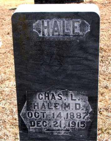 HALE, DR., CHARLES L. - Carroll County, Arkansas | CHARLES L. HALE, DR. - Arkansas Gravestone Photos