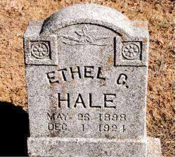 HALE, ETHEL G - Carroll County, Arkansas | ETHEL G HALE - Arkansas Gravestone Photos