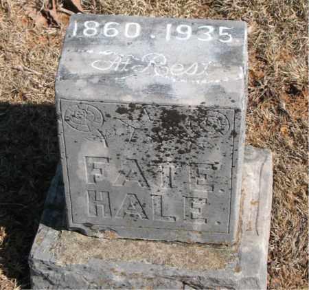 HALE, FATE - Carroll County, Arkansas | FATE HALE - Arkansas Gravestone Photos