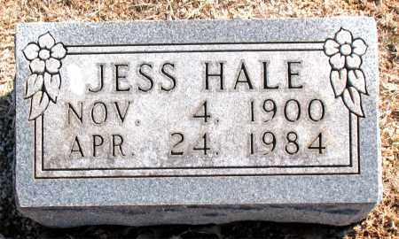 HALE, JESS - Carroll County, Arkansas | JESS HALE - Arkansas Gravestone Photos