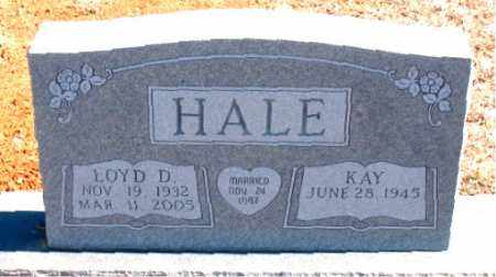 HALE, LOYD D. - Carroll County, Arkansas | LOYD D. HALE - Arkansas Gravestone Photos