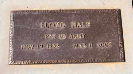 HALE  (VETERAN), LLOYD - Carroll County, Arkansas | LLOYD HALE  (VETERAN) - Arkansas Gravestone Photos