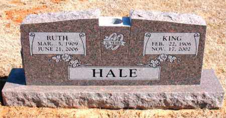 HALE, KING - Carroll County, Arkansas | KING HALE - Arkansas Gravestone Photos