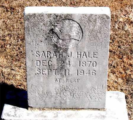 HALE, SARAH  J. - Carroll County, Arkansas | SARAH  J. HALE - Arkansas Gravestone Photos