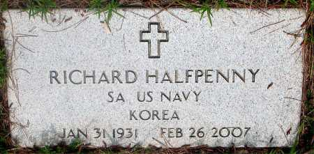 HALFPENNY (VETERAN KOR), RICHARD - Carroll County, Arkansas | RICHARD HALFPENNY (VETERAN KOR) - Arkansas Gravestone Photos