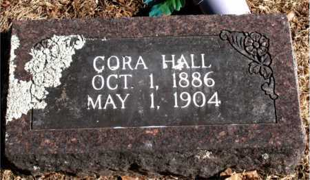 HALL, CORA - Carroll County, Arkansas | CORA HALL - Arkansas Gravestone Photos