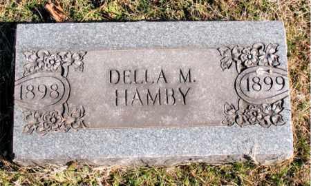 HAMBY, DELLA M. - Carroll County, Arkansas | DELLA M. HAMBY - Arkansas Gravestone Photos
