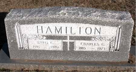 HAMILTON, CHARLES G. - Carroll County, Arkansas | CHARLES G. HAMILTON - Arkansas Gravestone Photos
