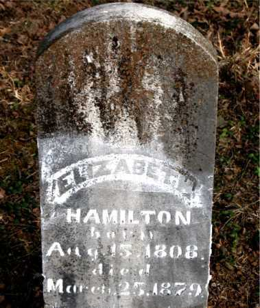HAMILTON, ELIZABETH - Carroll County, Arkansas | ELIZABETH HAMILTON - Arkansas Gravestone Photos