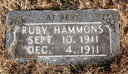 HAMMONS, RUBY - Carroll County, Arkansas | RUBY HAMMONS - Arkansas Gravestone Photos