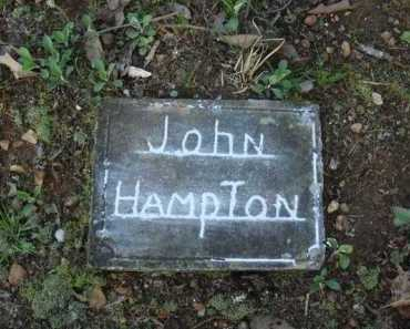 HAMPTON, JOHN - Carroll County, Arkansas | JOHN HAMPTON - Arkansas Gravestone Photos