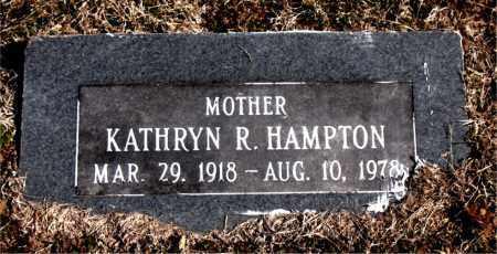 HAMPTON, KATHRYN  R. - Carroll County, Arkansas | KATHRYN  R. HAMPTON - Arkansas Gravestone Photos