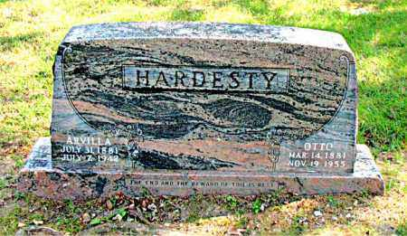 HARDESTY, ARVILLA - Carroll County, Arkansas | ARVILLA HARDESTY - Arkansas Gravestone Photos